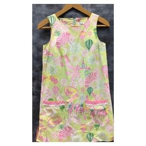 """Lilly Pulitzer White Label """" Derby Day"""" Shift, 0"""